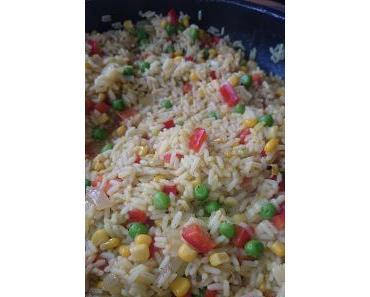 Curryreis [Vegetarisch kochen]