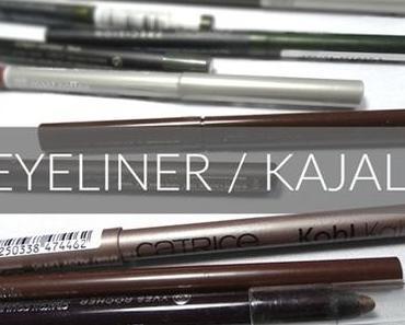 Kajals & Eyeliner–meine Favoriten