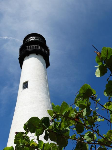 Historic lighthouse Bill Baggs State Park Key Biscayne