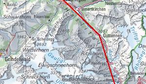 Meiringen Tunnel Oberwald