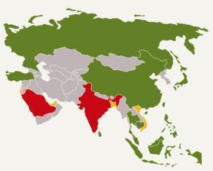 Drohnen-Gesetze in Asien
