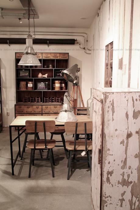 deko donnerstag mit vintage im industrie stil raw. Black Bedroom Furniture Sets. Home Design Ideas