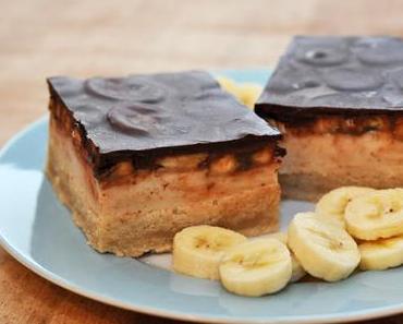 Schoko-Bananen-Schnitte - ein veganisiertes Rezept meiner Kindheit
