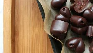 Hello Valentine! Rohschokolade gewissen Extra