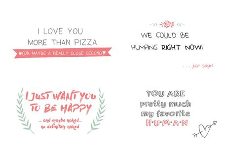 Goodie: I Love you more than Pizza