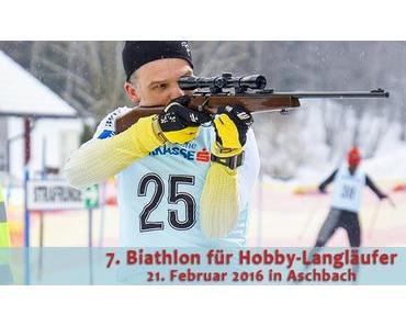 Termintipp: 7. Biathlon für Hobby-Langläufer in Aschbach