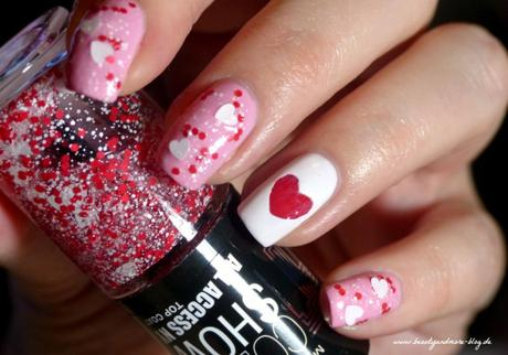 Valentines Day Nails - NOTD essence