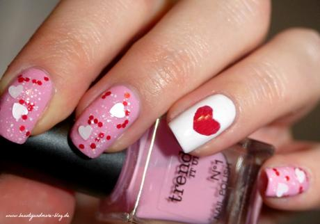 Valentines Day Nails - NOTD