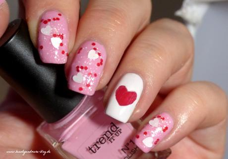 Valentines Day Nails - NOTD Trend it up