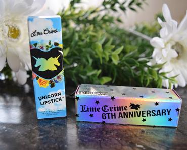 Lime Crime Unicorn Lipstick – Coquette & Eraser