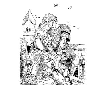 Nibelungen Sage 9/28 | Wie Siegfried mit Kriemhild heimkehrte