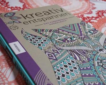 Buchempfehlung: Kreativ entspannen- Das farbenfrohe Ausmalbuch