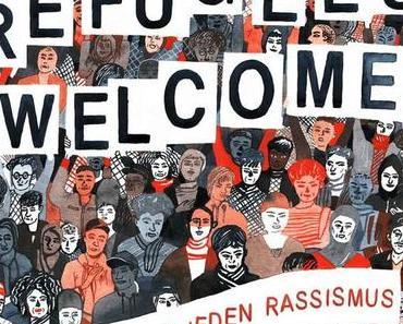 "SPRINGSTOFF Sampler ""Refugees Welcome – Gegen jeden Rassismus"" erscheint am 8. April 2016"