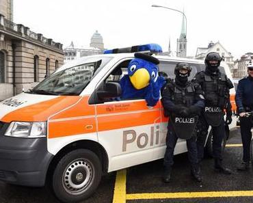 Goldraub in Zürich: Globi und die Polizei auf Verbrecherjagd