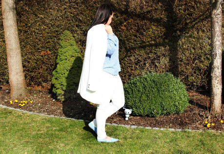 Spring Outfit - Trendfarbe 2016 Serenity