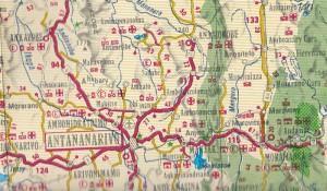Strassenkarten für Madagaskar