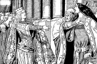 Nibelungen Sage 11/28 | Wie die Königinnen in Streit gerieten