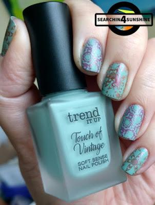 [Nails] Sunday ... Nails mit trend IT UP Touch of Vintage 020 & und nem Stamping Fail