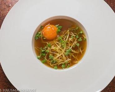 Beef tea mit Ei