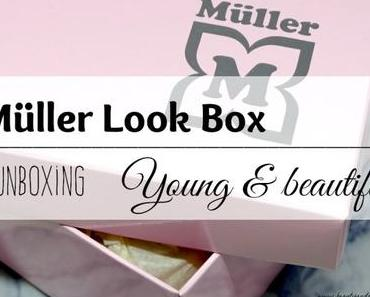 Müller Look-Box März 2016 Young & beautiful – Unboxing