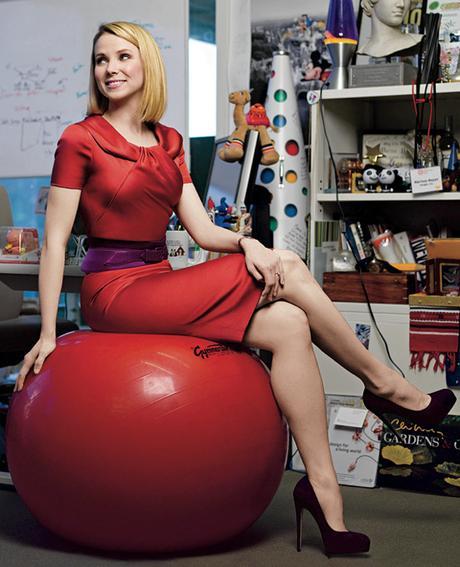 Marissa Mayer, CEO von Yahoo