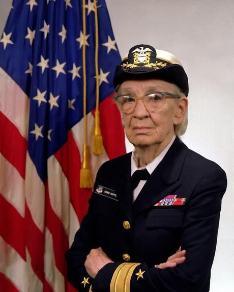 Grace Hopper, Admiral