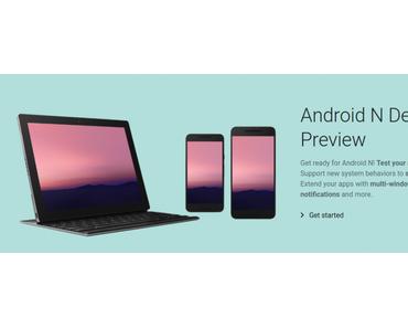 Android N Preview verfügbar