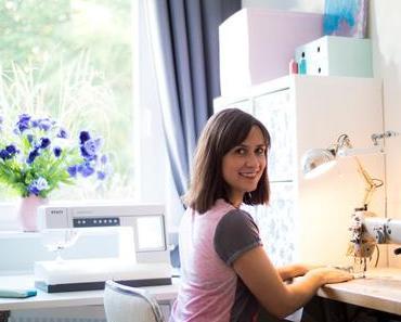 Nähzimmer einrichten– praktische Tipps und meine Nähmaschinen-Sammlung