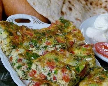 Ägyptische Frittata (Eiergericht) - Egga
