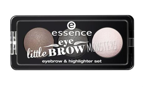 essence little eyebrow monsters eyebrow & highlighter set 02