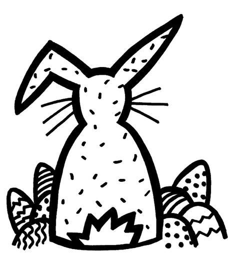 Osterbilder zum Ausdrucken und Ausmalen (gratis) – Teil 4
