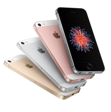Apple iPhone SE Vorder- und Rückseite