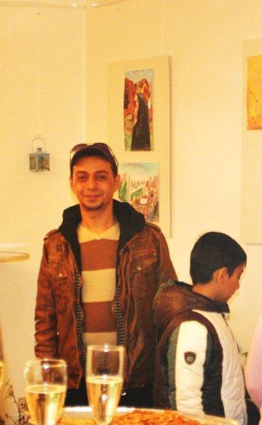 Artelier Stümpfel, Sarstedt: Ahmed Al-Gburi, Bilder eines irakischen Flüchtlings