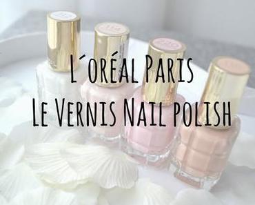 {First Impression} L´Oréal Paris Le Vernis Nagellacke