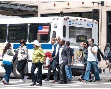 Geh-zu Fuß-zur-Arbeit-Tag – der amerikanische National Walk to Work Day