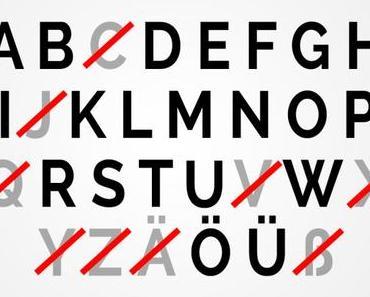 Der Postillon: Deutsch-Reform: Diese 9 überflüssigen Buchstaben fliegen aus dem Alphabet