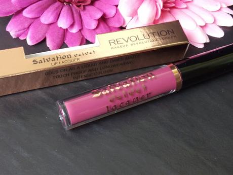 Makeup Revolution - Salvation Velvet Lip Lacquer  * Velvet Rebel *  Swatches & Review