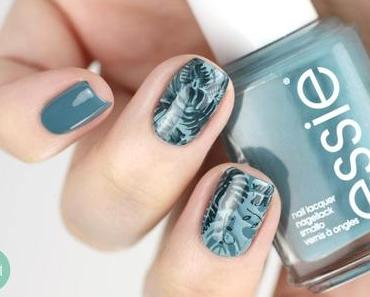 {Stamping-Sonntag} Essie Pool Side Service – Dschungel Stamping