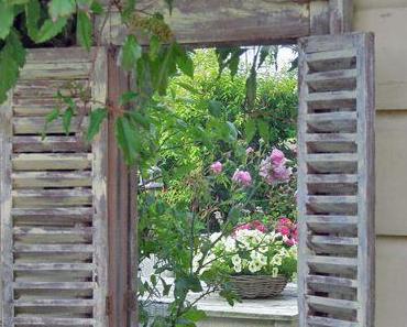 Spiegel im Garten – ein ganz besonderer Blickfang