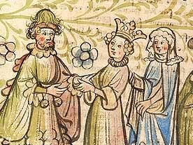 Nibelungen Sage 16/28 | Wie König Etzel um Kriemhild warb