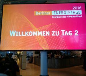 Rückblick Berliner Energietage 2016 und die Frage welches Thema ich zuerst bearbeiten soll