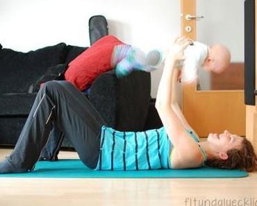Wie man sich während des Mittagsschlafs des Babies zum Sport motiviert
