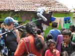 Aufklärung in den Slums von Mysore