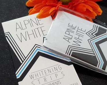Alpine White Whitening Strips für schnell weisse Zähne