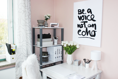 Blogger 1x1: Mein Blogger Office - Roomtour + Verlosung!