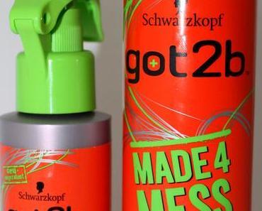 Schwarzkopf Got2b Made4Mess