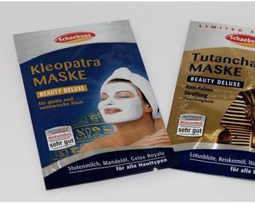 Schaebens Tutanchamun Maske & Kelopatra Maske