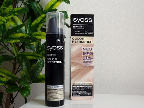 Syoss Color Refresher - kühle Blondnuancen