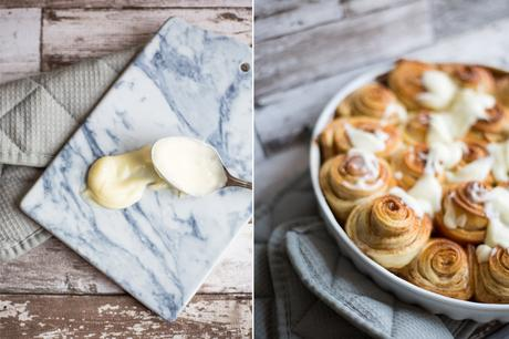 Food: Cinnamon Rolls  mit Firschkäse Frosting