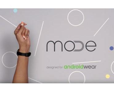 Google Mode : Wechselbare Armbänder für Android Wear Uhren